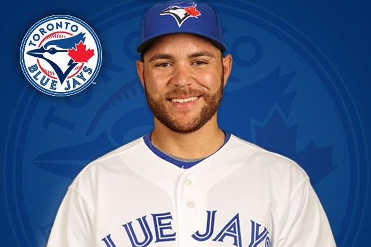 Russell Martin touchera 7 millions l'année prochaine, 15... (Photo tirée du compte Twitter des Blue Jays de Toronto)