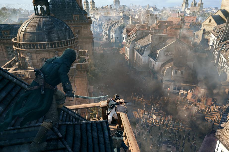 Assassin's CreedUnitynous met dans la peau d'Arno, un...