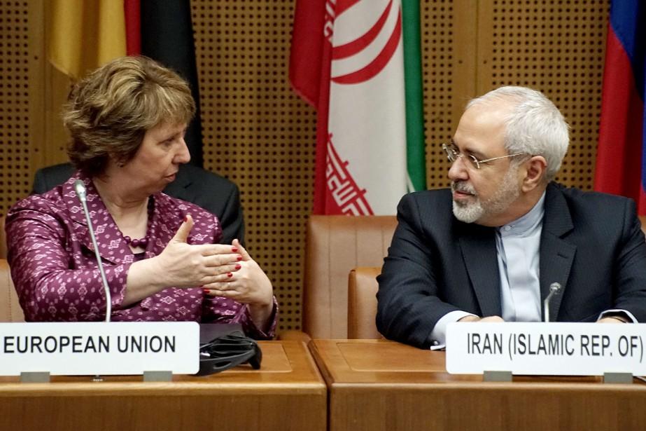 La représentante de l'Union européenne dans le dossier... (Photo JOE KLAMAR, Archives AFP)