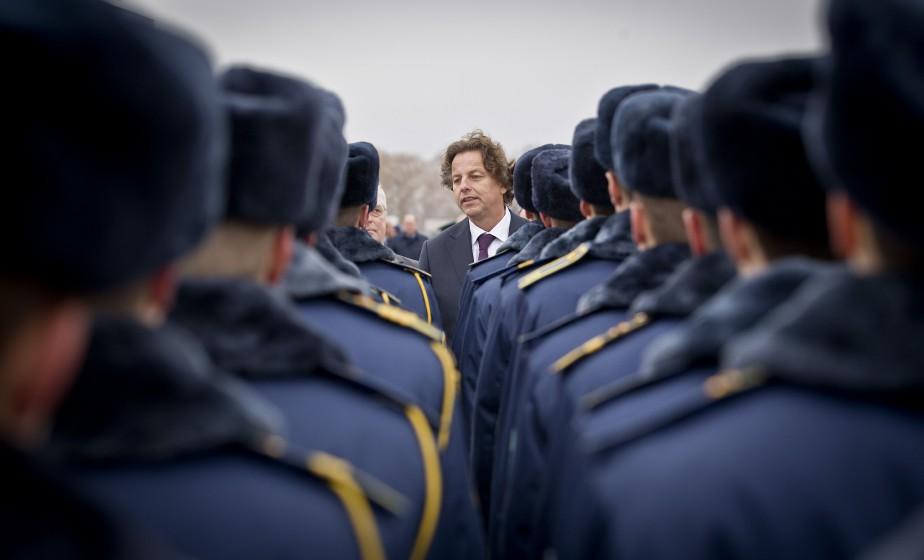 Le chef de la diplomatie néerlandaise,Bert Koenders... (Photo Evert-Jan Daniels, Archives AFP)