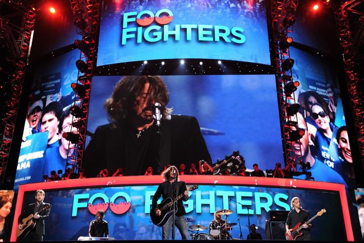Les Foo Fighters, dont le dernier album puise dans les racines de... (Photo: AFP)