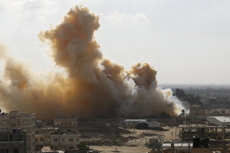 Le nord de la péninsule désertique du Sinaï,... (Archives Reuters)