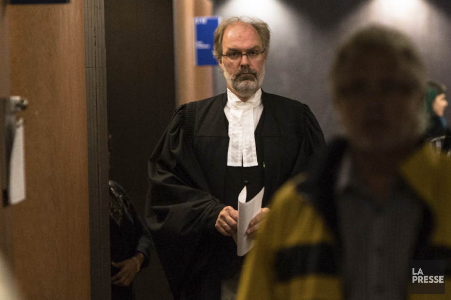 Me Louis Bouthillier, procureur de la Couronne.... (PHOTO SIMON GIROUX, ARCHIVES LA PRESSE)