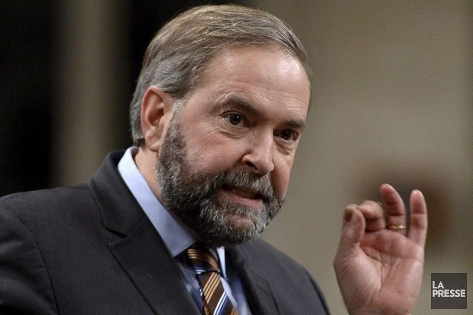 Le Nouveau Parti démocratique... (PHOTO SEAN KILPATRICK, LA PRESSE CANADIENNE)