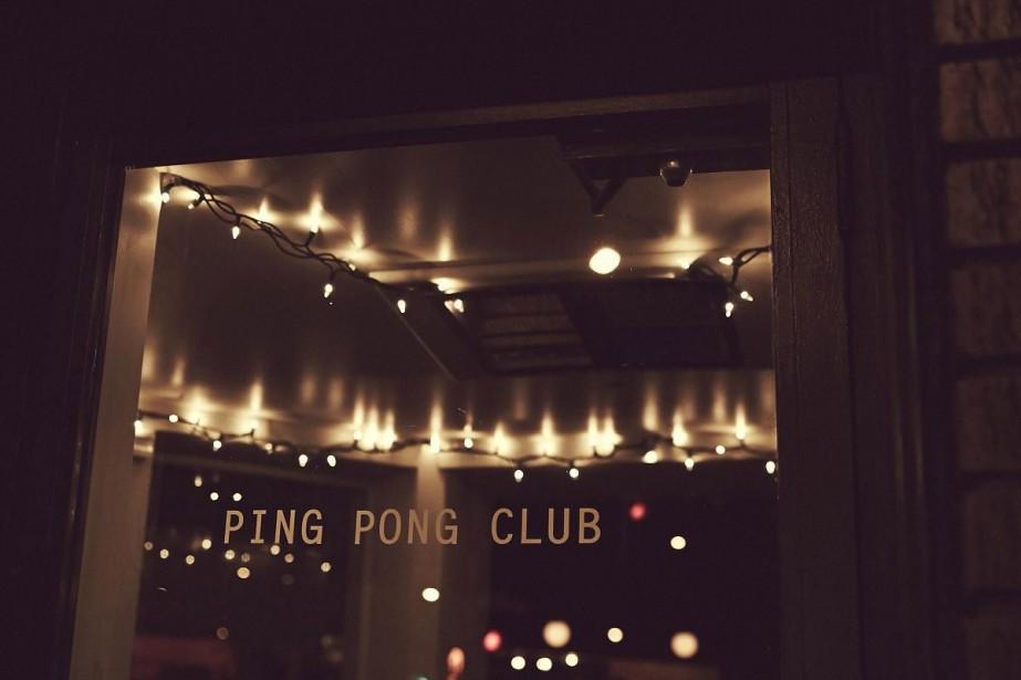 Le Ping Pong Club a remplacé le Royal... (Photo fournie par le Ping Pong Club)