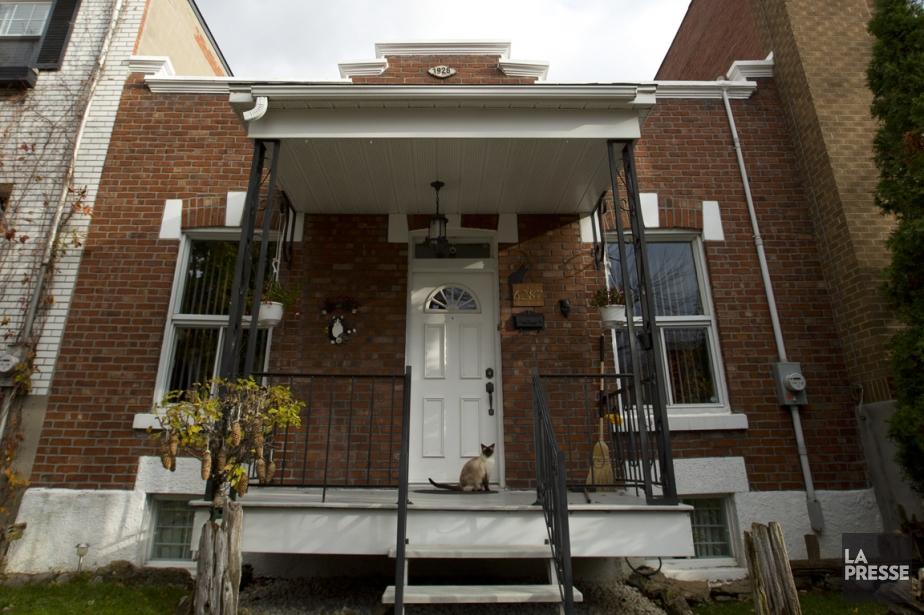 «Ces maisons sont très significatives, car elles sont... (Photo François Roy, La Presse)