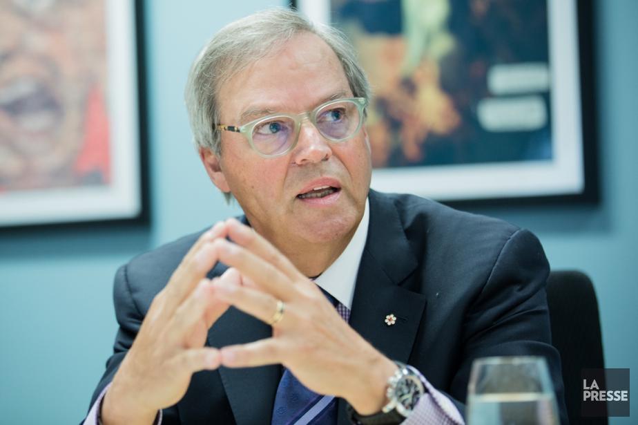 Jacques Ménard, président de BMP Groupe financier au... (Photo Edouard Plante-Fréchette, archives La Presse)