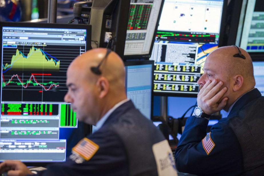 Les indices new-yorkais démarraient en petite forme «alors... (PHOTO LUCAS JACKSON, REUTERS)