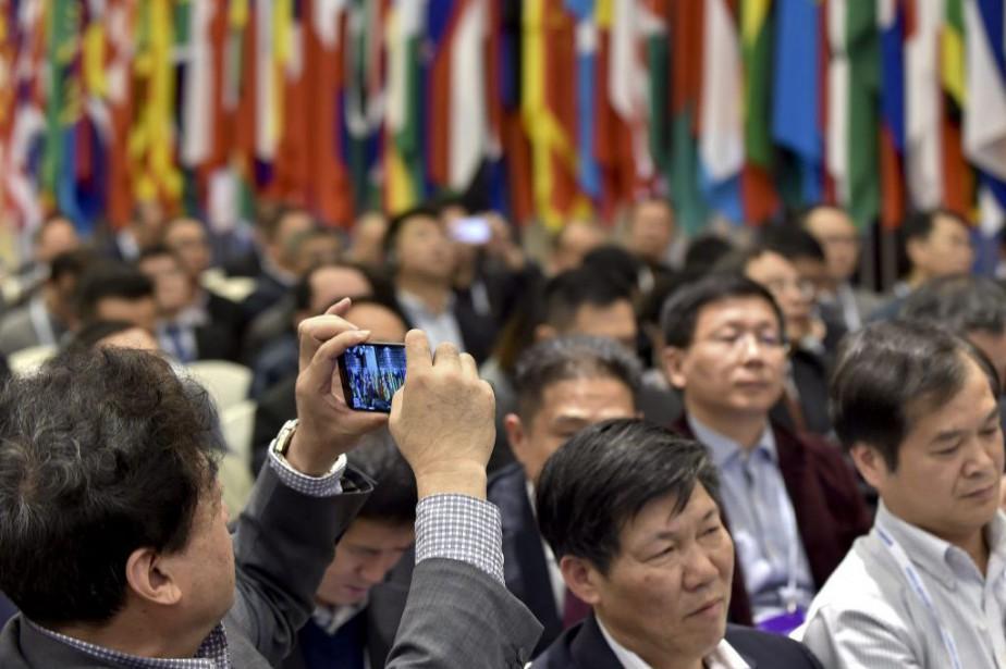 Une conférence mondiale sur internet a été organisée... (Photo China Out/AP)