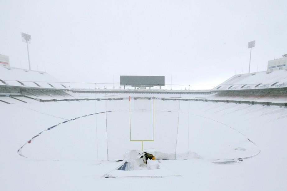 Une violente tempête de neige a déversé plus... (Photo Kevin Hoffman, USA Today Sports)