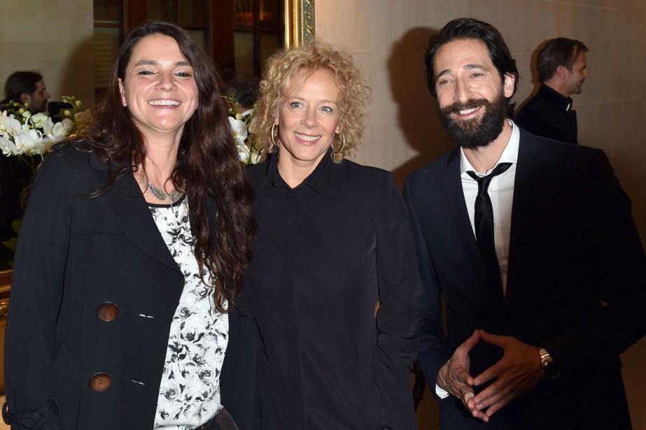 La réalisatrice Katja von Garnier, l'actrice Katja Riemann... (Photo: AFP)