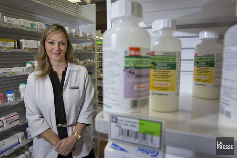 Chantale Gaboury, 35 ans, est pharmacienne propriétaire. Elle... (PHOTO IVANOH DEMERS, LA PRESSE)