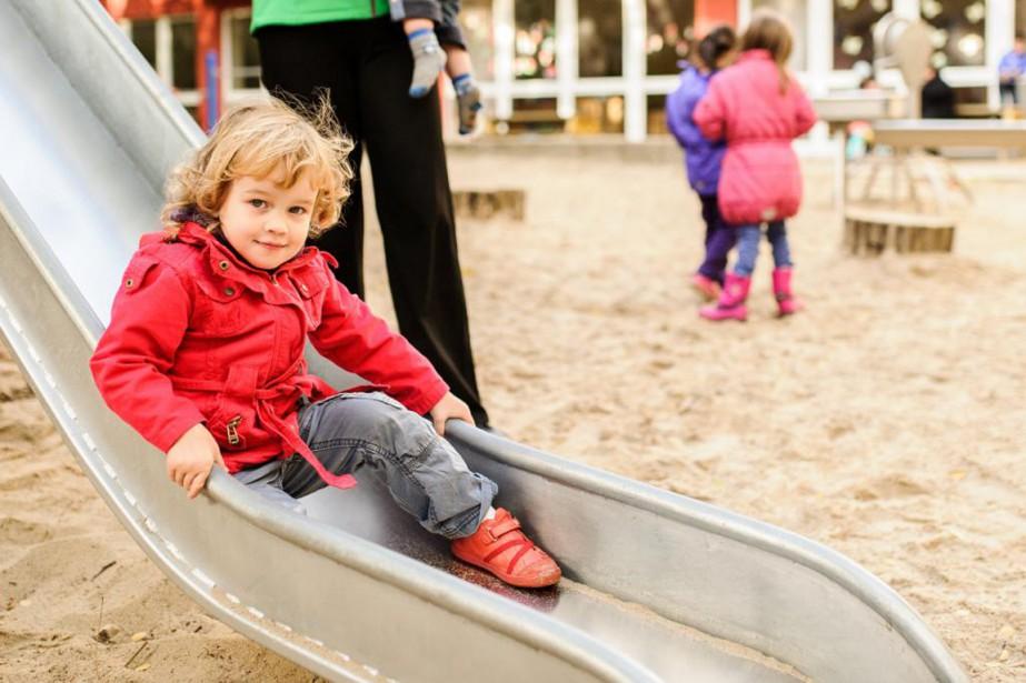 Lydia, 2 ans, fréquente une garderie de Berlin.... (PHOTO ROBERT SCHLESINGER, COLLABORATION SPÉCIALE)