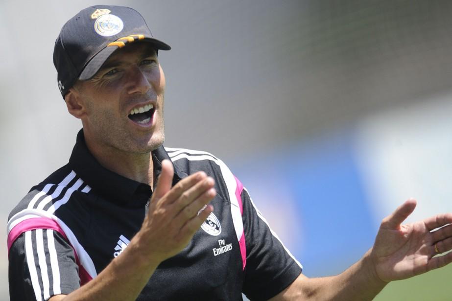 Zinedine Zidane est l'entraîneur de l'équipe réserve du... (Photo Pedro Armestre, archives AFP)