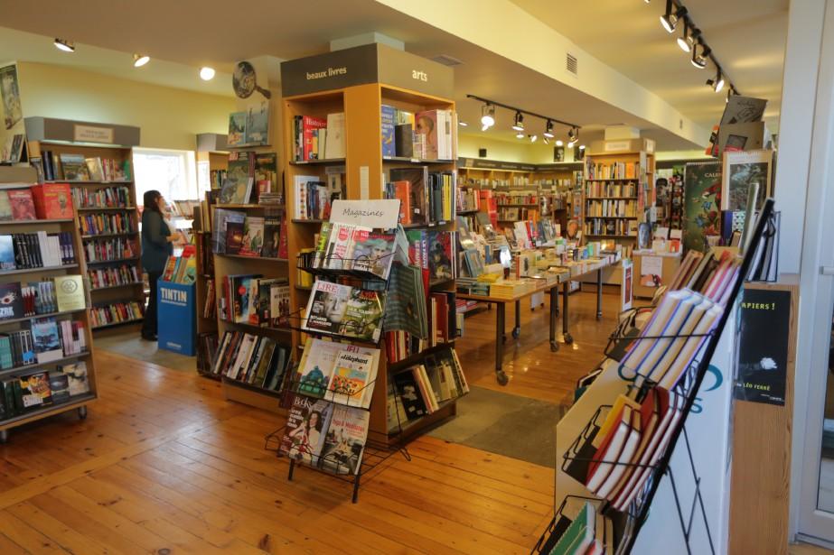 Dans la librairie Le Fureteur, toute la place est faite aux livres etauxauteurs. (PHOTO MARTIN CHAMBERLAND, LA PRESSE)