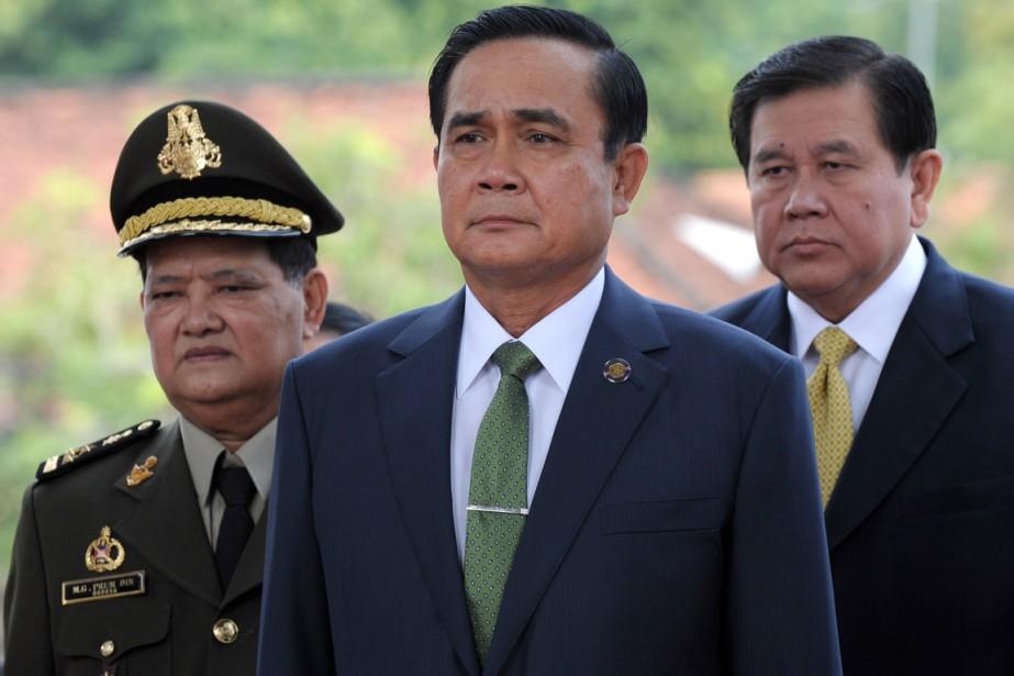 Dans un contexte de restriction des libertés publiques,... (PHOTO TANG CHHIN SOTHY, ARCHIVES AFP)
