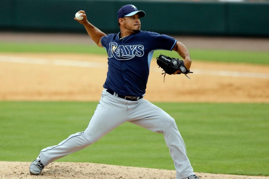 Joel Peralta... (Photo Carlos Osorio, archives AP)