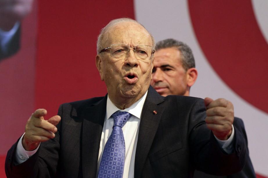 Son chef Béji Caïd Essebsi, 87 ans, est... (PHOTO ANIS MILI, REUTERS)