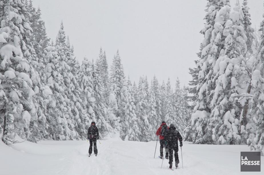 Il y a du nouveau cet hiver à la... (PHOTO HUGO-SÉBASTIEN AUBERT, LA PRESSE)