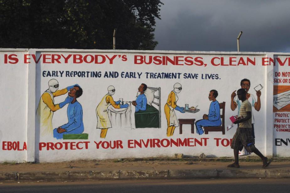 L'épidémie d'Ebola, qui s'est déclarée il y a... (Photo James Giahyue, Archives REUTERS)