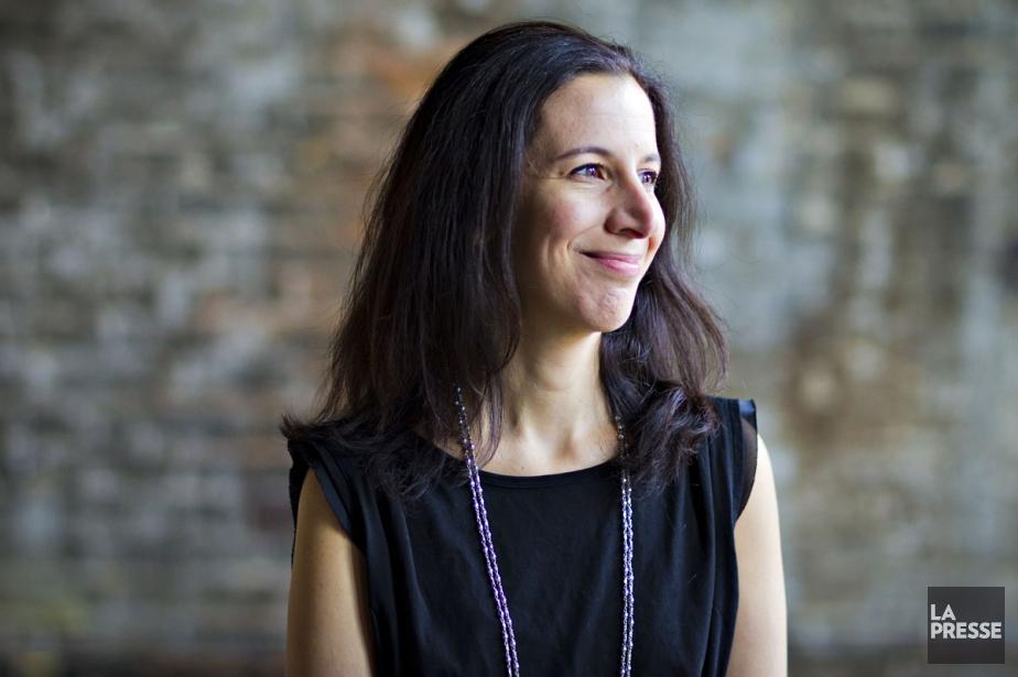 Rima Elkouri a sûrement une des plus belles... (Photo: Olivier Jean, La Presse)
