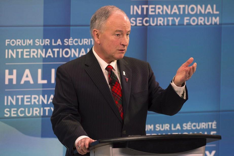 Le ministre de la Défense nationale, Rob Nicholson,... (Photo Andrew Vaughan, La Presse canadienne)