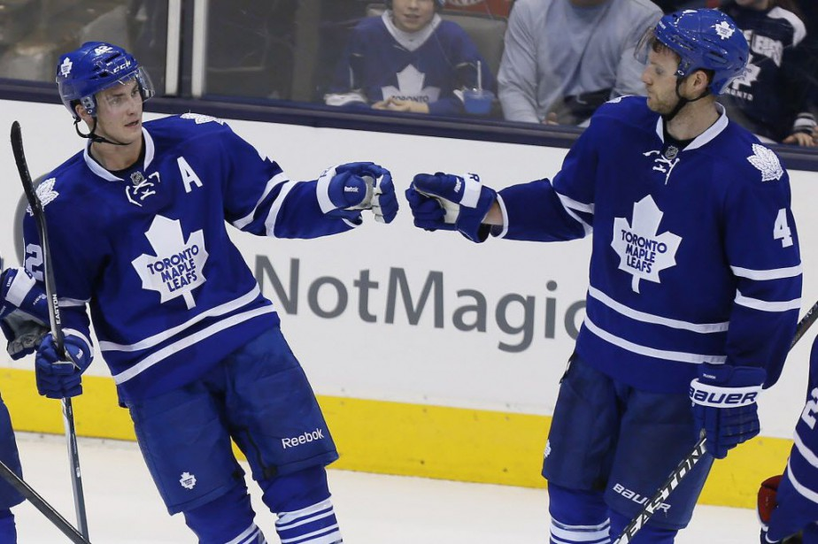 Les Maple Leafs de Toronto ont défait les... (Photo John E. Sokolowski-USA TODAY Sports)