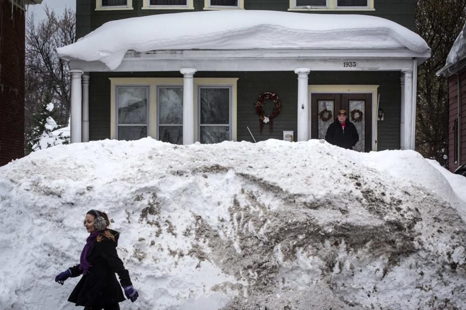 Le thermomètre remonte progressivement, les températures négatives s'effaçant... (Photo Mark Blinch, Reuters)
