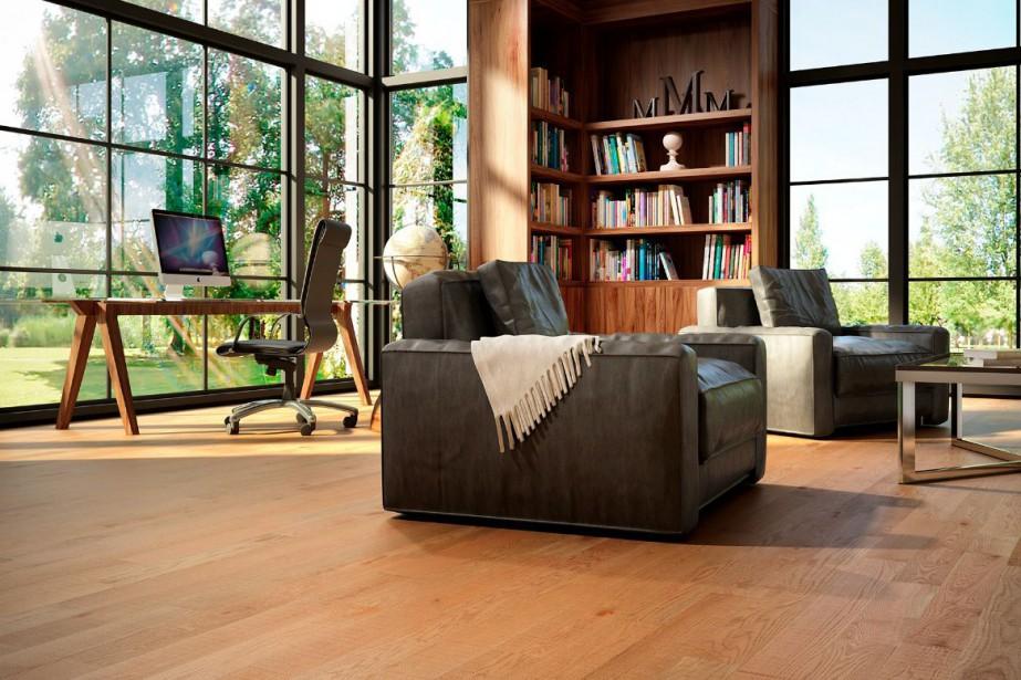 tendances planchers 2015 un faible pour le mat et le satin mich le laferri re d co. Black Bedroom Furniture Sets. Home Design Ideas