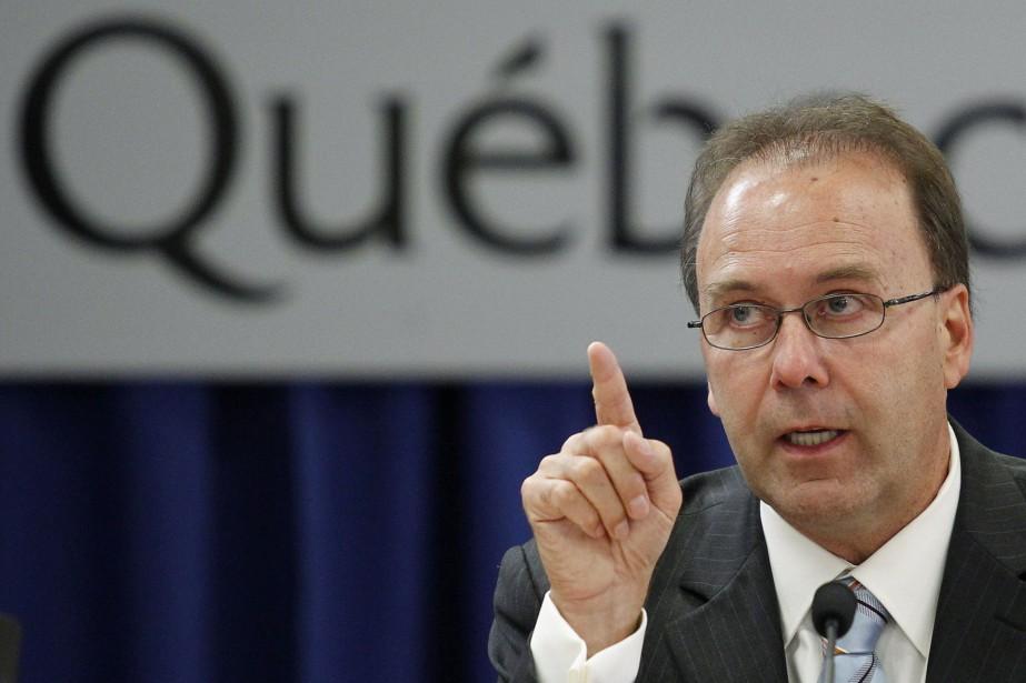 L'ex-ministre de la JusticeMarc Bellemare en 2010.... (Photo Reuters)