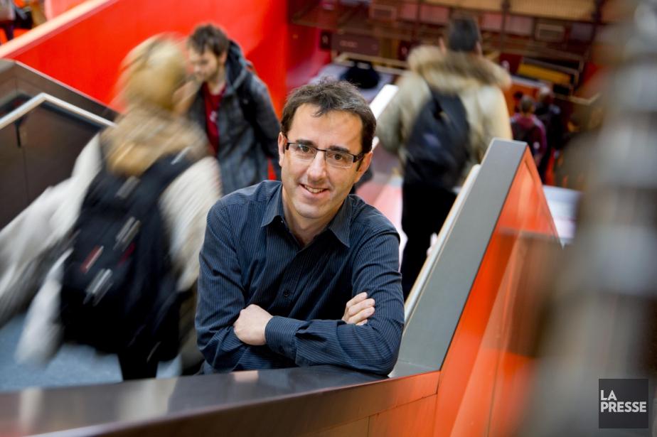 Matthieu Décoste... (PHOTO ALAIN ROBERGE, LA PRESSE)