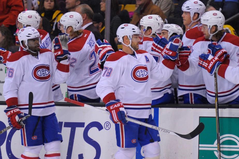 Le Canadien a disputé huit matchs en 13... (Photo Bob DeChiara, USA Today Sports)