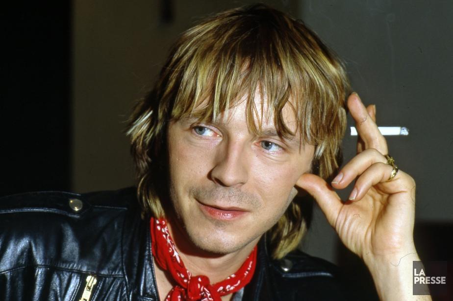 Renaud en 1986.... (Photo: Armand Trottier, archives La Presse)