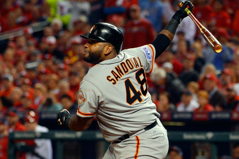 Pablo Sandoval avec les Giants.... (Photo Jeff Curry, archives USA Today Sports)