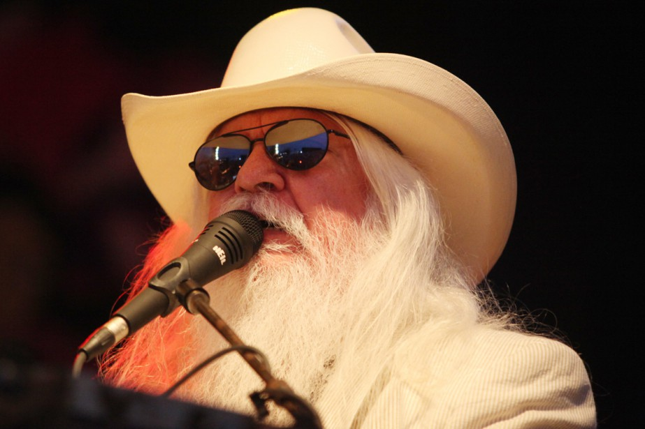 Leon Russell... (Photo: archives AFP)