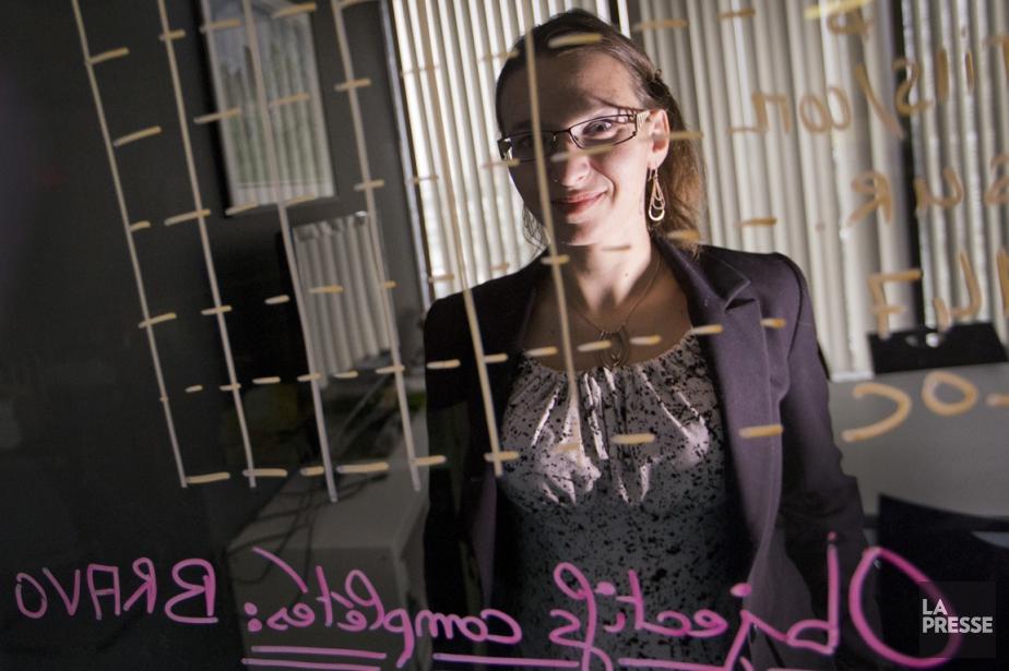 Véronique Marineau est gestionnaire de copropriété chez... (Photo La Presse)