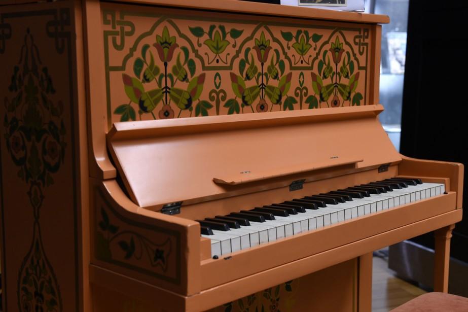 Le piano du célèbre film Casablanca a été adjugé 3,41... (Photo: AFP)