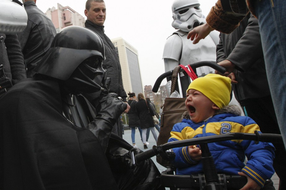 Star Warsest adulé par des générations de fans... (Photo Reuters)