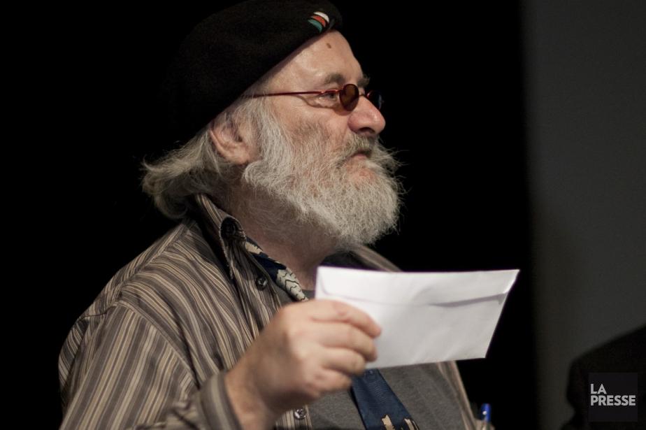 Victor Lévy-Beaulieu, qui a reçu le prix Gilles-Corbeil... (Photo: André Pichette, archives La Presse)