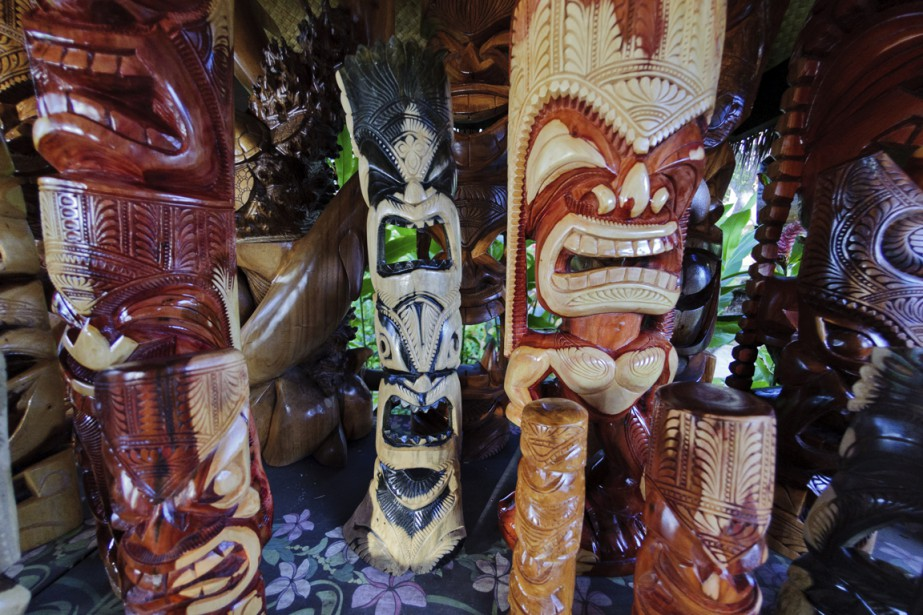 Les statues tiki, dans la culture polynésienne, assurent la protection des lieux. Mais attention au kitsch! La parcimonie reste de rigueur. (Photo Digital/Thinkstock)