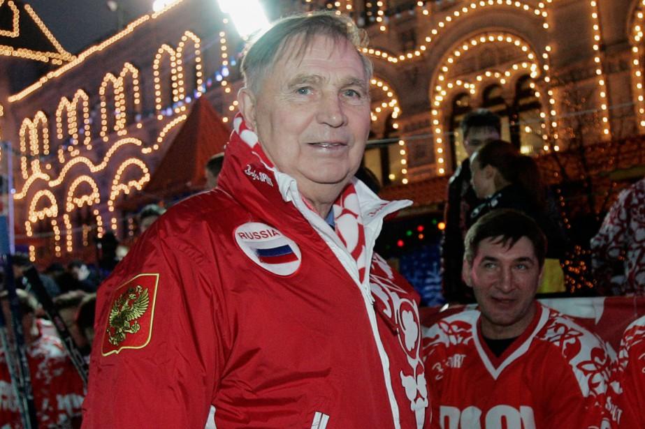 Viktor Tikhonov a sans doute été l'entraîneur le... (Photo Alexander Nemenov, archives AFP)