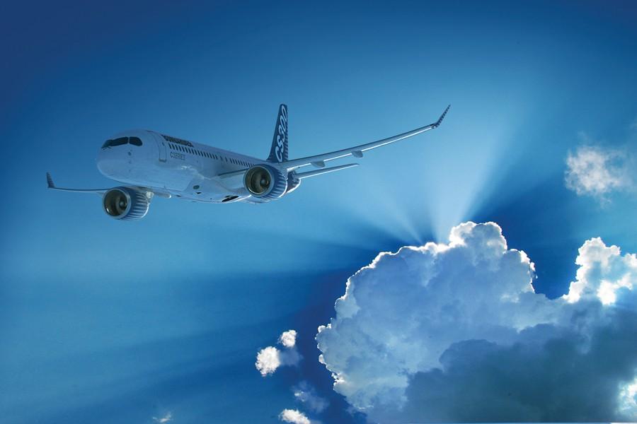 Le CS300, un des modèles de la CSeries... (PHOTO ARCHIVES LA PRESSE CANADIENNE)