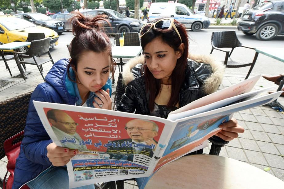 Le second tour présidentiel opposera deux Tunisie: d'un... (PHOTO FADEL SENNA, AFP)
