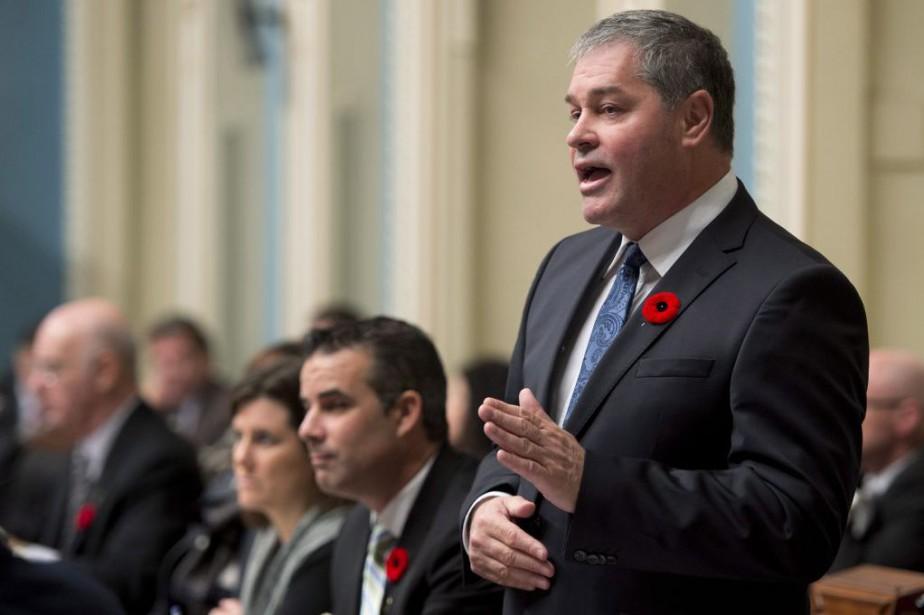 Le ministre de l'ÉducationYves Bolduc... (Archives La Presse Canadienne)