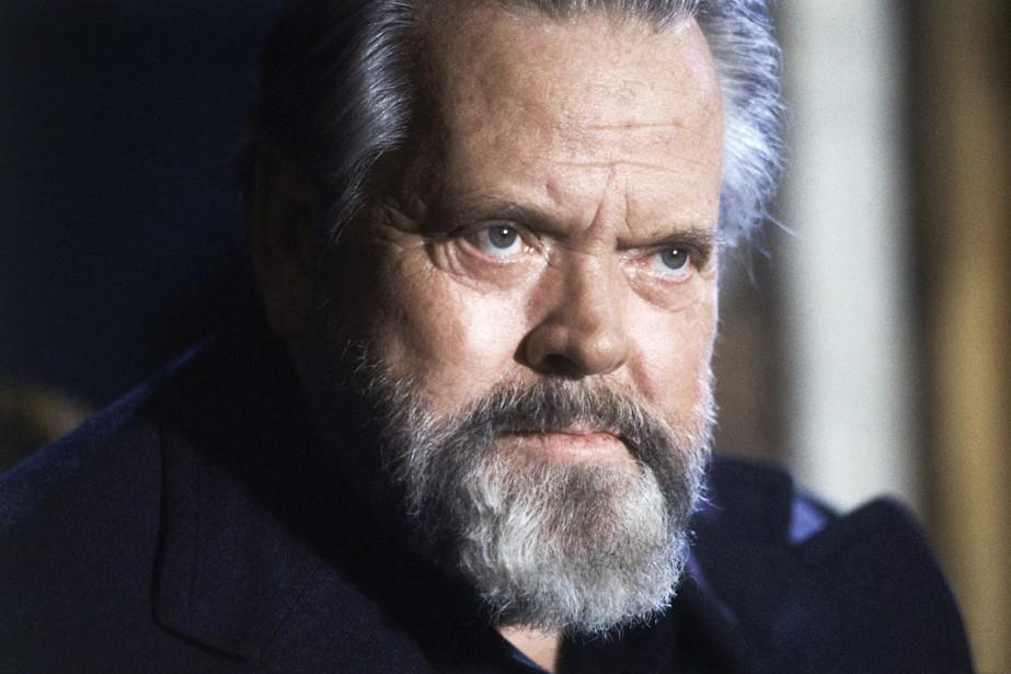 Orson Welles lors d'une conférence de presse à... (Photo: archives AP)