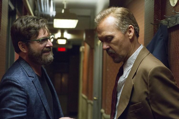 Zach Galifianakis et Michael Keaton dans une scènde... (Photo: AP)