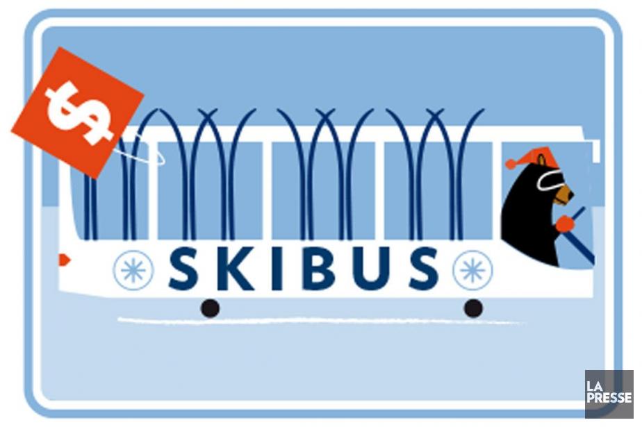 Skier futé pour ne pas trop payer?... (ILLUSTRATION JULIEN CHUNG, LA PRESSE)