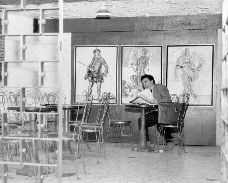 Buissonneau a dirigé le théâtre de Quat'Sous jusqu'en 1989. Le voici, en 1966, un an après avoir fondé le théâtre de Quat'Sous. (Archives La Presse)