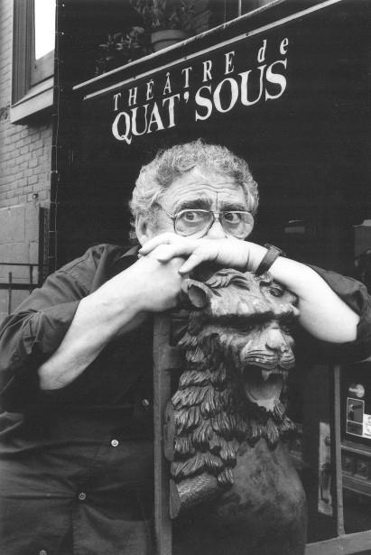 Buissonneau a dirigé le théâtre de Quat'Sous de 1965 à 1989. (Archives Le Soleil)