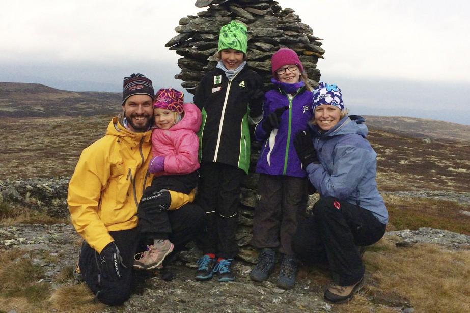Pierre-Nicolas Lemyre s'est exilé en Norvège il y... (Photo fournie par la famille)
